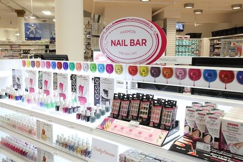 Harmon Flagship Nail Bar - NYC's First Face Values Carries Everything From Polish to Pretzels