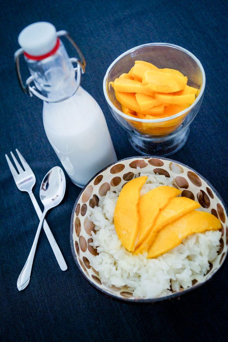 Ein Stück Thailand - Sticky Rice mit Mango
