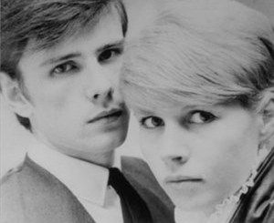 Stuart Sutcliffe (ex-member of Silver Beatles in Germany) and his girlfriend, photographer: Astrid Kirchherr ( friend to the Beatles too)