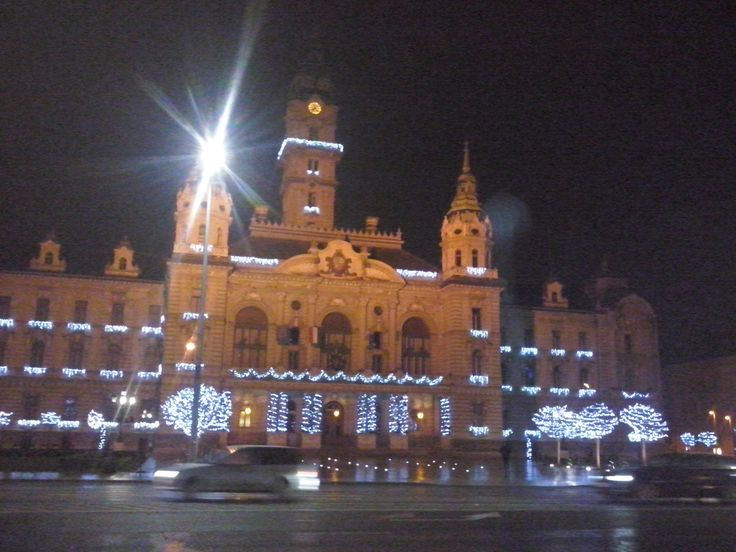 The beautiful town hall :)