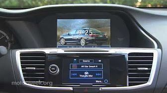 2013 Honda Accord Touring | New Car Review | on Everyman Driver - YouTube