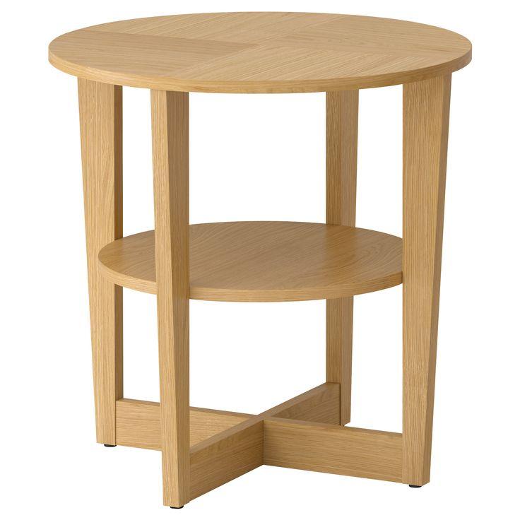 VEJMON Side table - oak veneer - IKEA