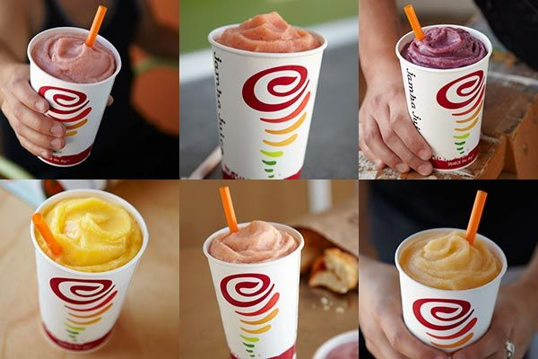 All of the Jamba Juice recipes!