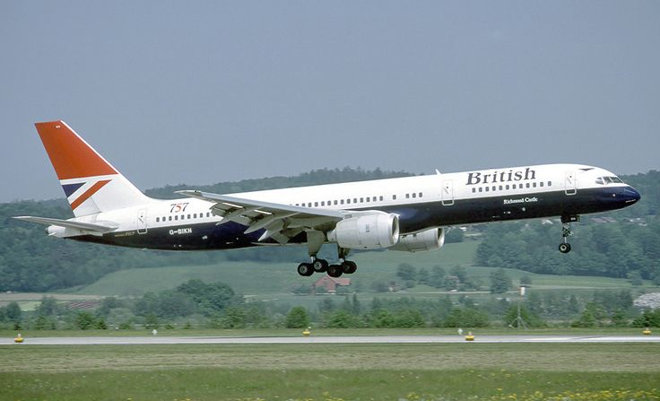 British Airways was one of the first customers for the RB211-powered 757 - by Eduard Marmet
