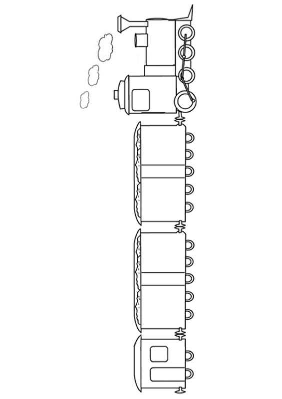 Train Car Coloring Page Train Coloring Pages For Kid Coloringpages Train Coloring Pages Coloring Pages For Kids Coloring For Kids