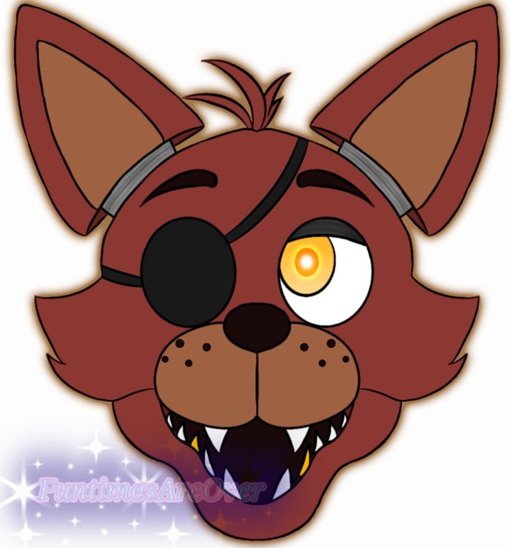 Foxy Head By FuntimesAreOver
