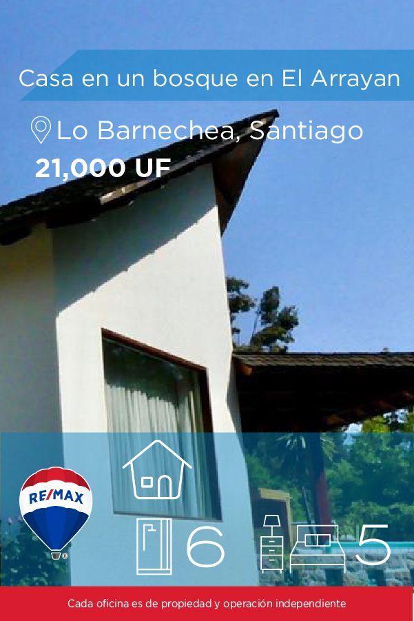 [#Casa en #Venta] - #Casa en un #bosque en El #Arrayan 🛏: 5 🚿: 6 #propiedades #inmuebles #bienesraices #inmobiliaria #agenteinmobiliario #exclusividad #asesores #construcción #vivienda #realestate #invertir #REMAX #Broker #inversionistas #arquitectos #venta #arriendo #casa #departamento #oficina #chile