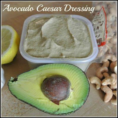 Vegan Avocado Caesar Dressing