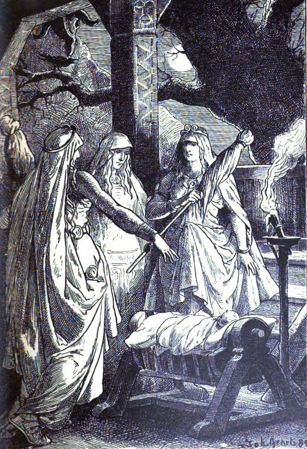 Mead Hall:  The #Norns.