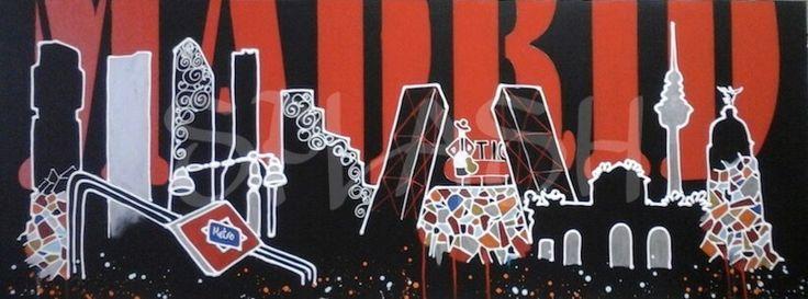 Madrid Skyline 2 SP689# cuadros de Madrid# cuadros Skyline Madrid# skyline Madrid# cuadros modernos# cuadros para salón# cuadros para dormitorios# cuadros baratos# cuadros splash#tiendas de cuadros online# cuadros baratos#