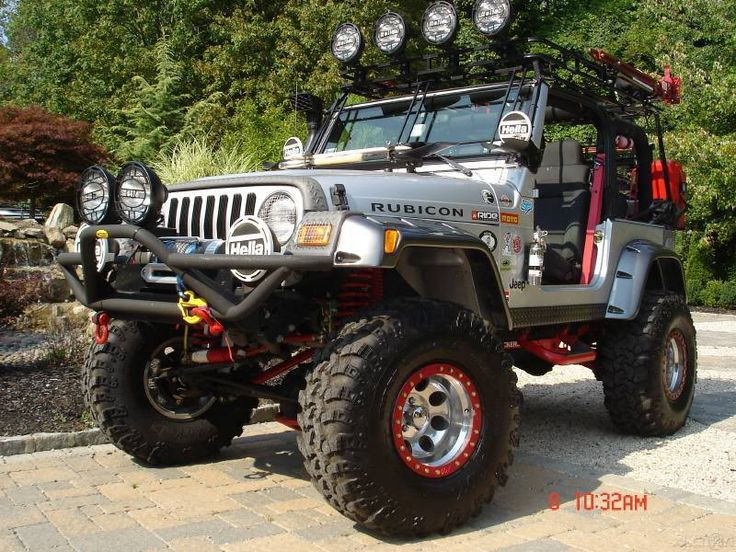Decked Out Jeep Wrangler | tricked out jeeps - JeepForum.com
