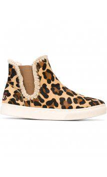 Botas MOU Chelsea Leopardo
