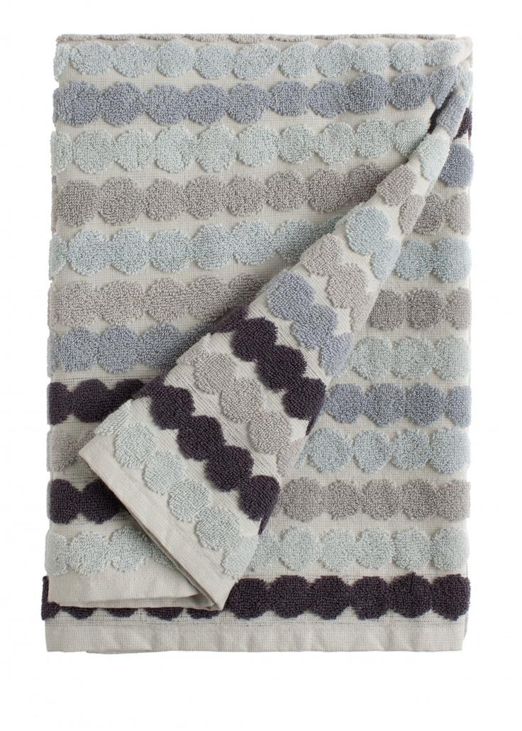 Räsymatto bath towel | Towels | Marimekko