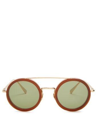 Kowalski round-frame sunglasses