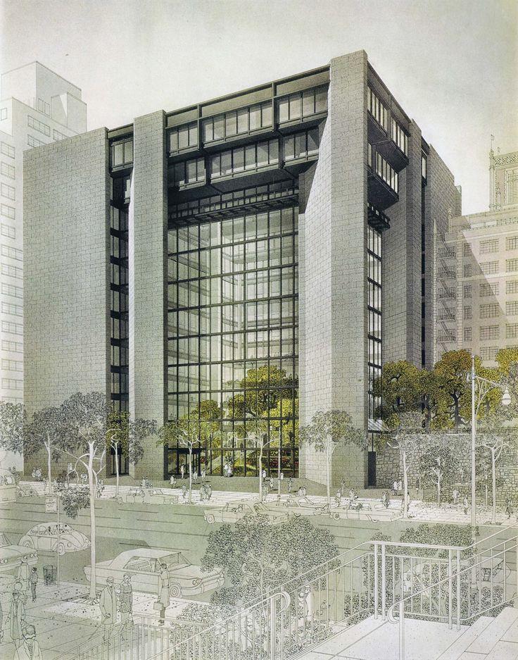 Ford Foundation Headquarters, New York City, 1963-68 (Kevin Roche John Dinkeloo Associates)