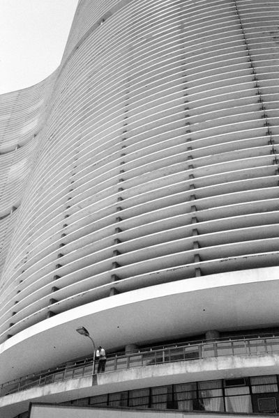 Copan Building, Sao Paulo by Oscar Niemeyer, 1957-66