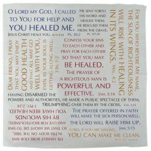 Prayer Cloth - Healing Verses | PRACHEA