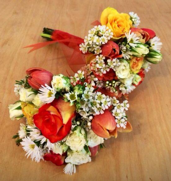 Bridesmaids' Bouquets.