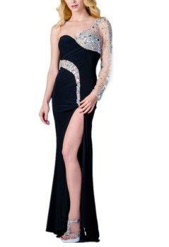 Long sleeve 21st birthday dresses