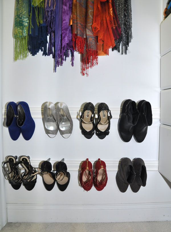 10 Genius DIY Ways To Organize Your Shoes