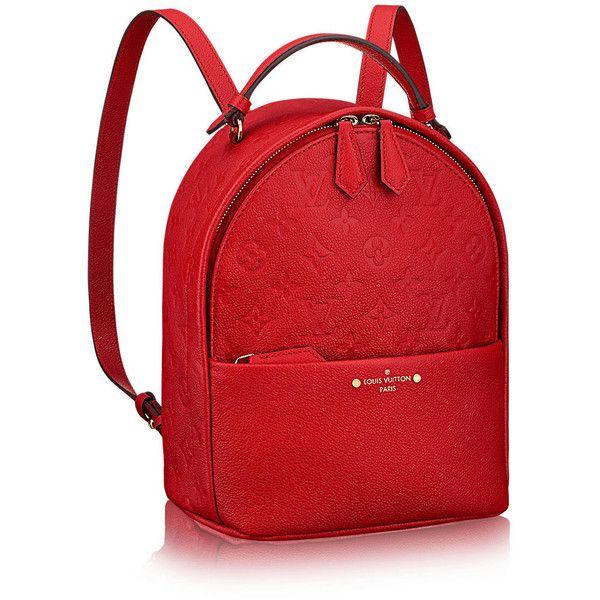 Sorbonne Backpack ($2,400) ❤ liked on Polyvore featuring bags, backpacks, red backpack, knapsack bag, travel rucksack, rucksack bags and daypack bag