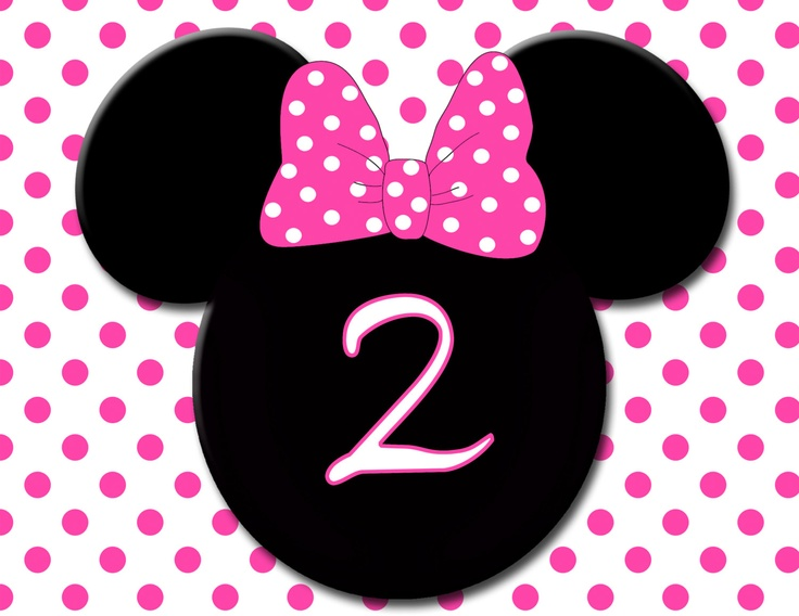 Number 2 Sign Created By Photodesignz Etsy Minnie