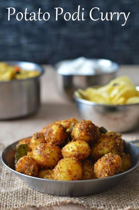Palakkad Chamayal: Baby Potato Podi Curry