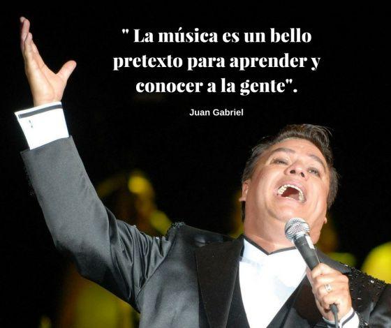 El Divo de Juárez no sólo nos dejó un gran repertorio musical sino una larga lista de sabias frases sobre la música, la fama y el amor.