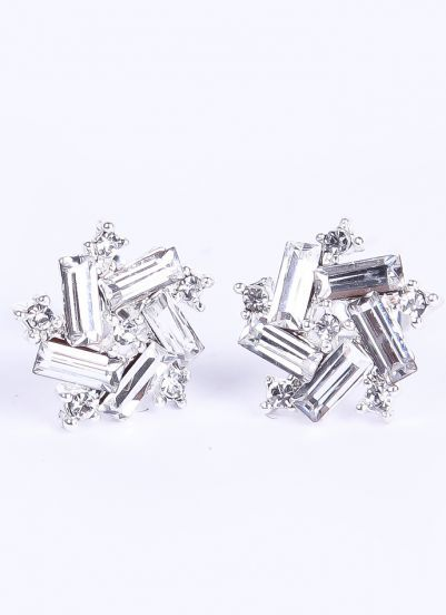 Sparkly Stud Earrings - these look like ice slivers.