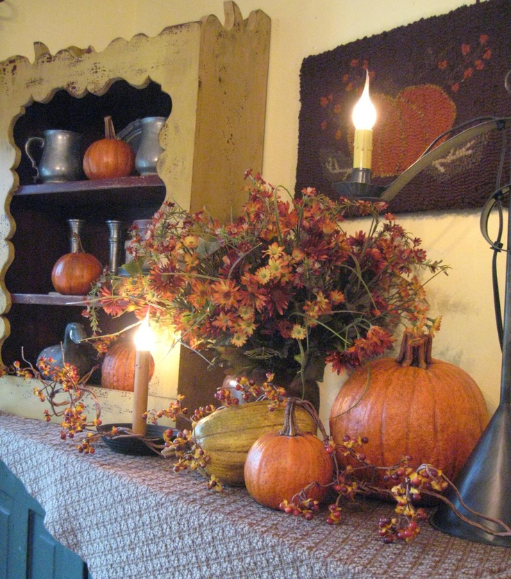 Fall Country Decorating Ideas: 94 Best Primitive Fall Decor Images On Pinterest