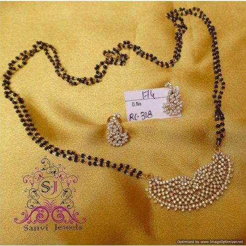 Elegant Diamond Look Mangalsutra