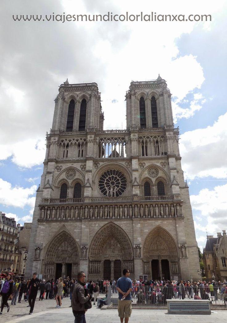 Viajes Mundicolor L´alianXa. Catedral de Notre Dame en París.