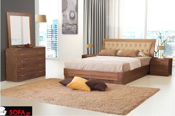 Κρεβατοκάμαρα Νο119 σε ξύλο καρυδιάς http://www.sofa.gr/epiplo/krevatokamara-no119