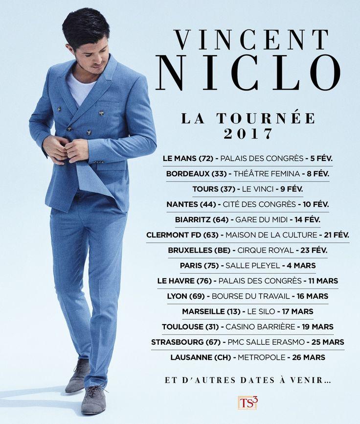 CONCOURS Vincent Niclo 5CD Promos à gagner