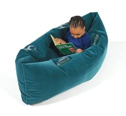 made me think of an idea for vbs- a boat- take two brown body pillows and sew ends together to make boat