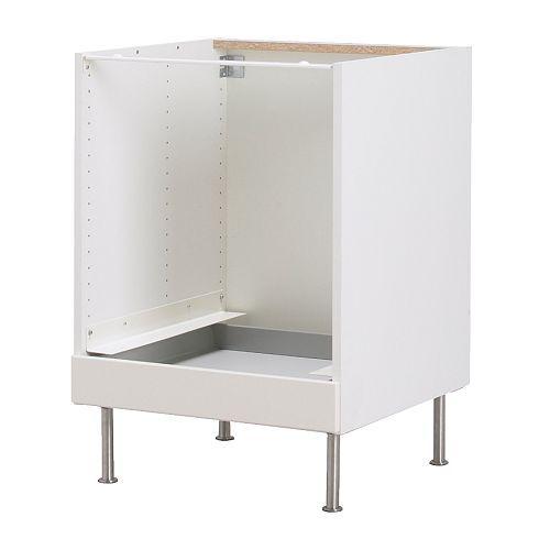 FAKTUM Élément bas pour four IKEA Conçu pour recevoir un four encastrable. Idéal pour ranger plats à four, couvercles,  livres de cuisine et autres.