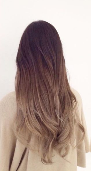 perfect ombre for brunettes