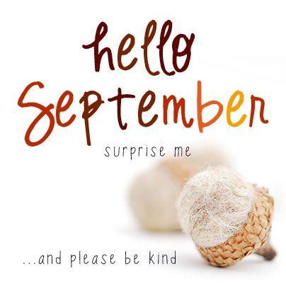 Hello September | MollyMoo