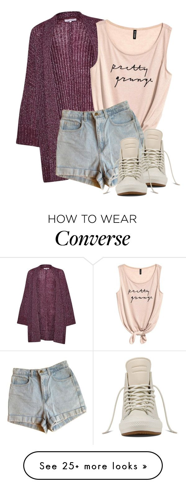 """Untitled #169"" by mmspls on Polyvore featuring Great Plains, American Apparel and Converse"