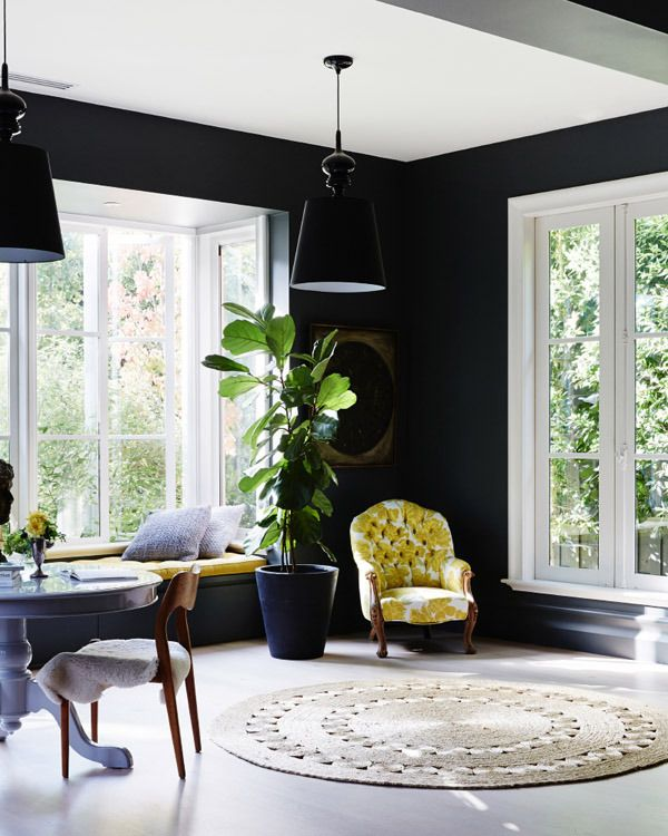 25 Best Ideas About Black Accent Walls On Pinterest