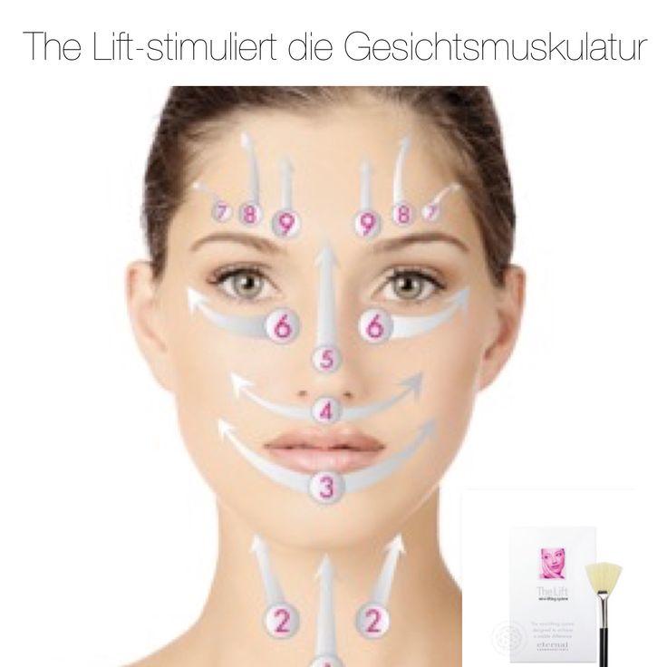 The Lift - die nachhaltige Liftingmaske stimuliert die Gesichtsmuskulatur.
