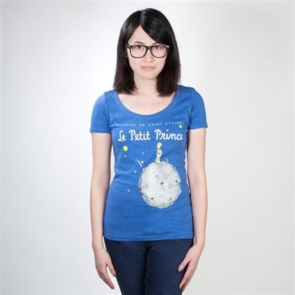 The Little Prince book cover t-shirt