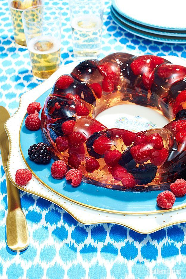 Berries and Bubbles   7 Vintage Jello Recipes That Are Surprisingly Delicious