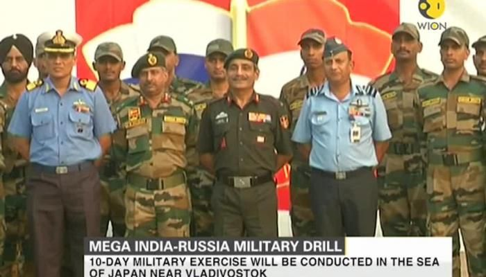 Mega India-Russia military drill keeps China on tenterhooks | Zee News