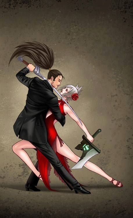 Yasuo and Riven