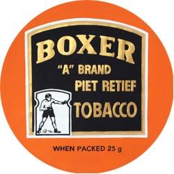 Boxer Dad used to mix Boxer with Rum and Maple when he wants to smoke his pipe