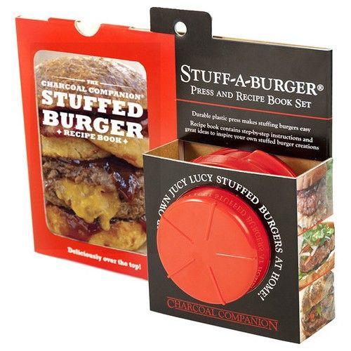 Vi har DK's bedste priser tilbehør til din Weber Grill - Stuff A Burger - Juicy Lucy - Køb online til billigste pris - Steven Raichlen,Charcoal osv.