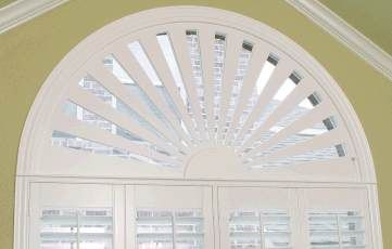 paladium wondow treatments | Stock and custom window treatments for arches, eyebrows, circles, and ...