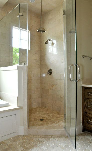 86 best house remodel images on pinterest exterior homes for Small hall bathroom remodel ideas