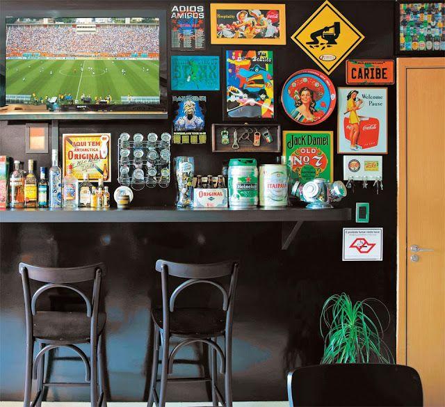 CASA MIDDAS: Como montar um bar em casa com pouco espaço